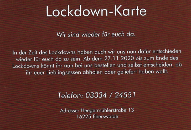lockdown karte